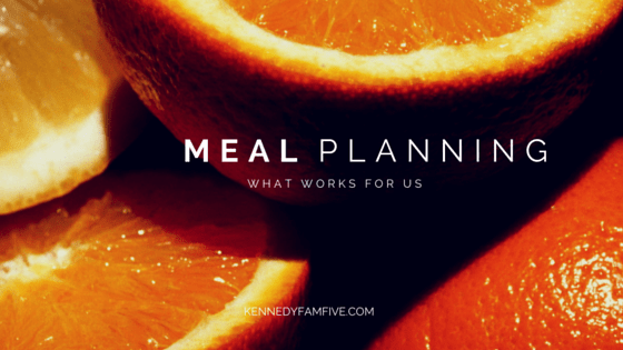 Systems To Make Meal Planning A Snap