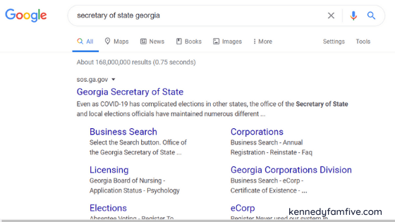 snippet of google search for georgia secretary of state, help in figuring out hwho to vote for