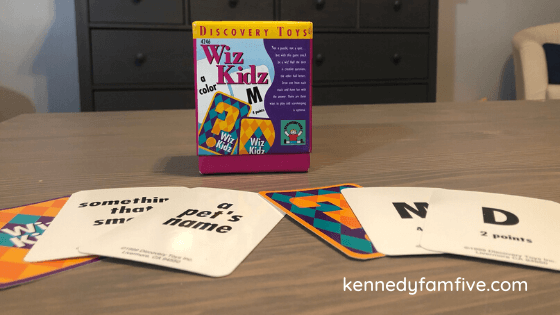 wiz kidz game for travel, best family games, best game to play while you're in the car
