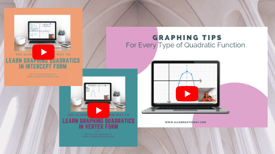 6 Ideas for Teaching Graphing Quadratics Without Stressing Out!