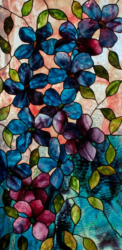 Clematis Stained Glass Pattern