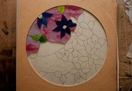 Round Clematis Tutorial 1 photo 4