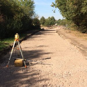 Loonbedrijf Kennes opmaak onverharde wegen
