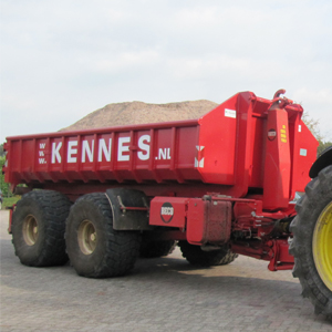 Loonbedrijf Kennes container