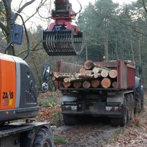 Loonbedrijf Kennes transport hout