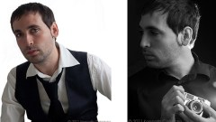 Two different profile photos of Genova based photographer Kenneth Carranza