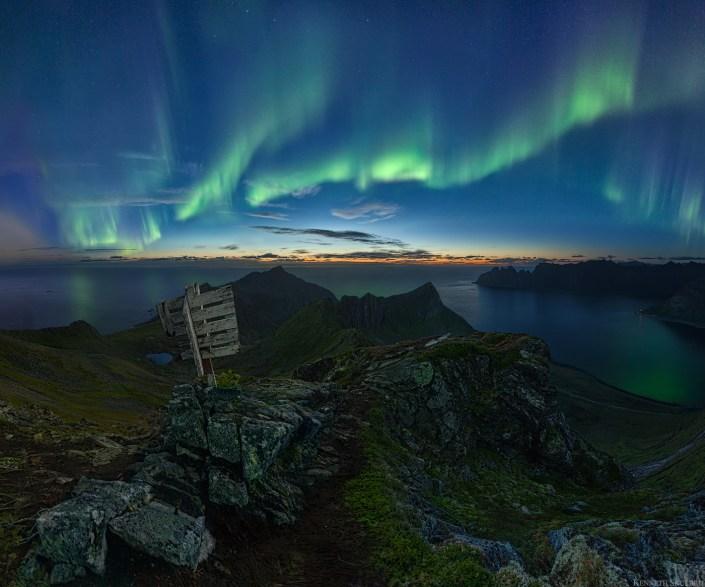 Aurora Sunset Senja