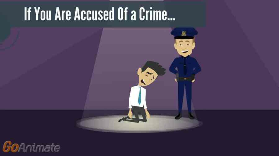Accused of a crime