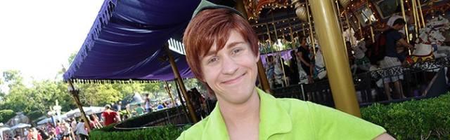 Peter Pan Magic Kingdom meet and greet KennythePirate