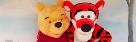 Tigger and Winnie the Pooh Magic Kingdom meet and greet KennythePirate
