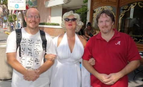 Marilyn Monroe Universal Studios 2012
