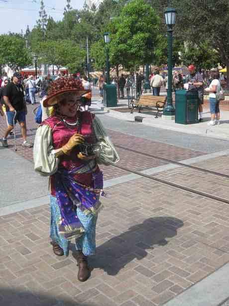 Molly the Messenger at California Adventure 2012