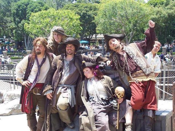 Bad Mood t Blackhearted, Johnny Crimson, Laverne Enchante, Captain Dante & Billy Books from Dream Job 2007
