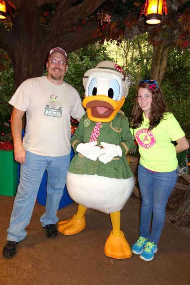 Donald Duck Animal Kingdom 2012