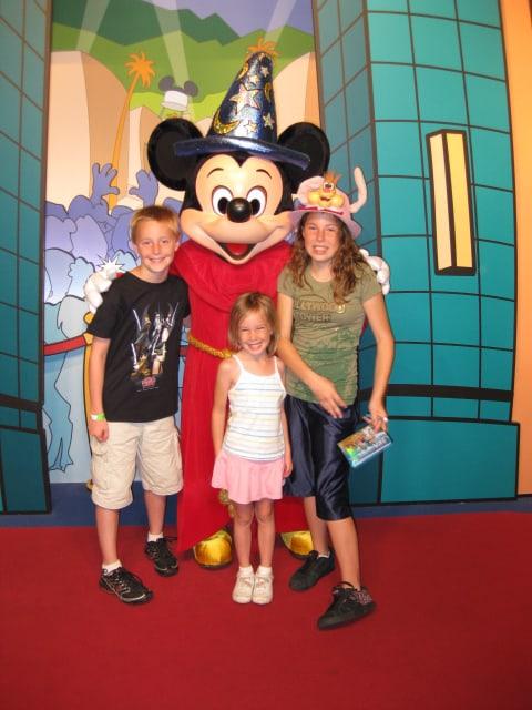 Sorcerer Apprentice Mickey Hollywood Studios 2009