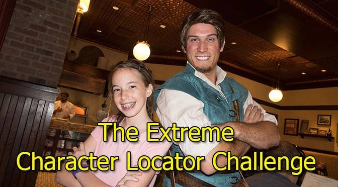 The Extreme Character Locator Challenge