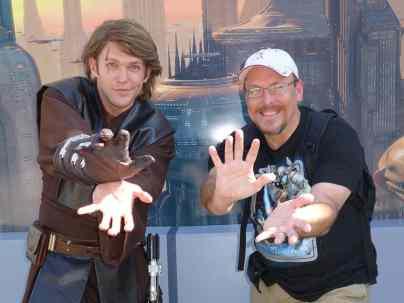 Anakin Skywalker Star Wars Weekends Hollywood Studios Disney World 2013