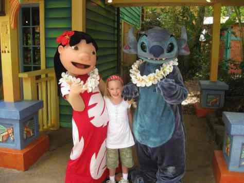 Walt Disney World, Animal Kingdom Characters, Lilo and Stitch