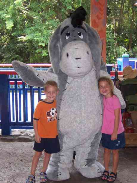 Eeyore Animal Kingdom 2004