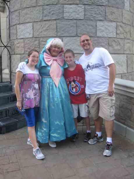 Fairy Godmother - Magic Kingdom 2010