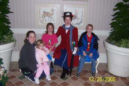 Mary Poppins 1900 Park Fare Grand Floridian 2005