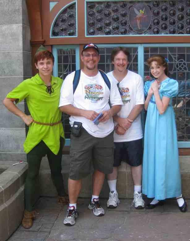 Peter Pan and Wendy - Fantasyland 2010