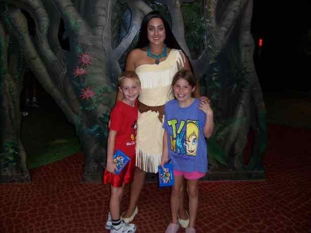 Pocahontas Animal Kingdom at Rafiki's Planet Watch 2006