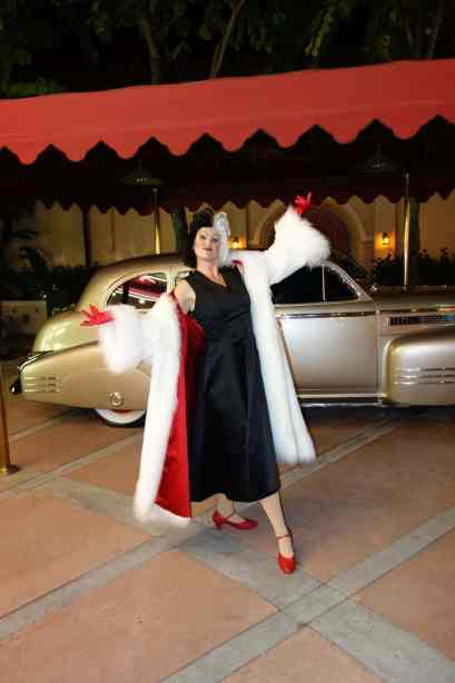 Cruella at Villains Bash 2012