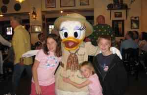 Daisy Duck at Animal Kingdom