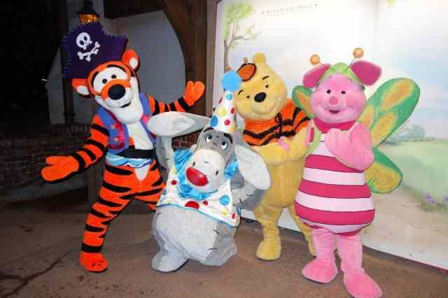 Tigger, Eeyore, Winnie the Pooh and Piglet 2012