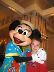Minnie at Cape May Cafe Breakfast
