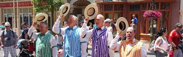 Dapper Dans at Magic Kingdom