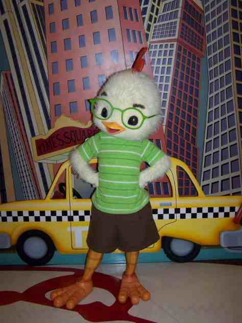 Disneyland Paris, Walt Disney Studios, Character Meet and Greet, Chicken Little