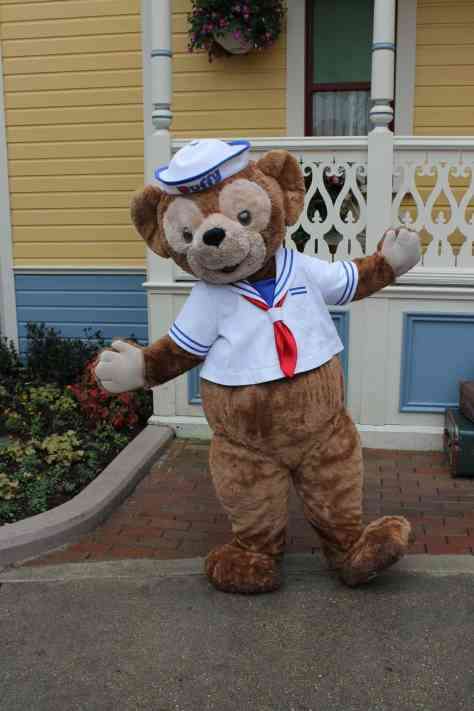 Duffy meets guests almost every day on Main Street USA.