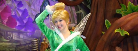 Walt Disney World, Magic Kingdom, Tinker Bell, Character Meet and Greet