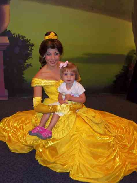 Belle was still offering meets back then in the Magic Kingdom
