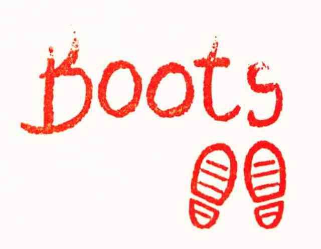 Boots autograph
