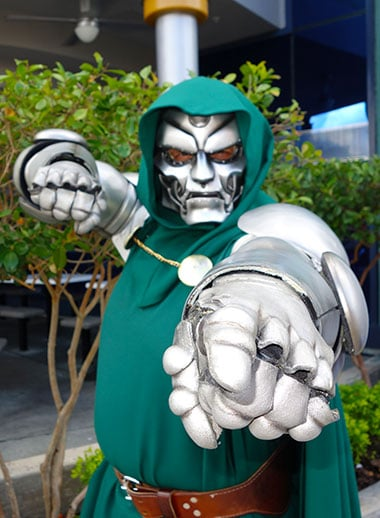 Dr Doom Universal Orlando Islands of Adventure Character