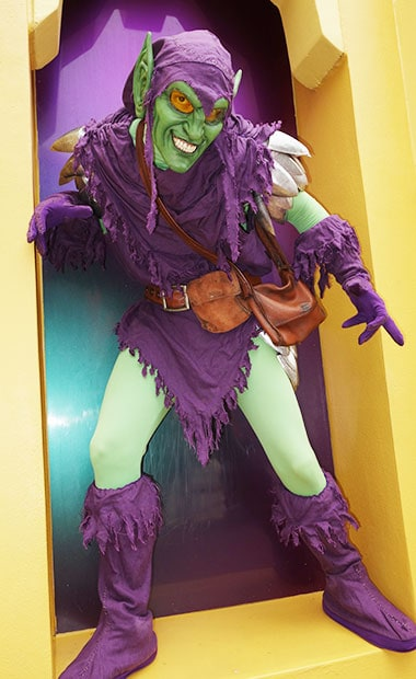Green Goblin Universal Orlando Islands of Adventure Character