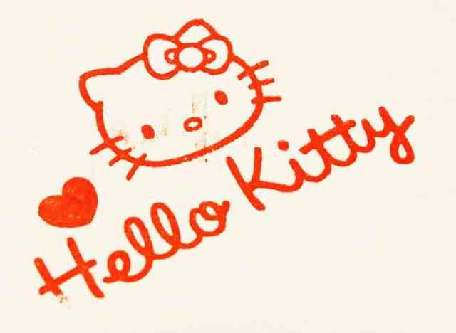 Hello Kitty autograph
