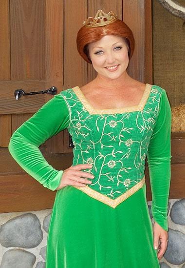 Princess Fiona from Shrek meet and greet Universal Studios Florida