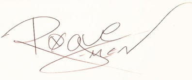 Rogue Autograph