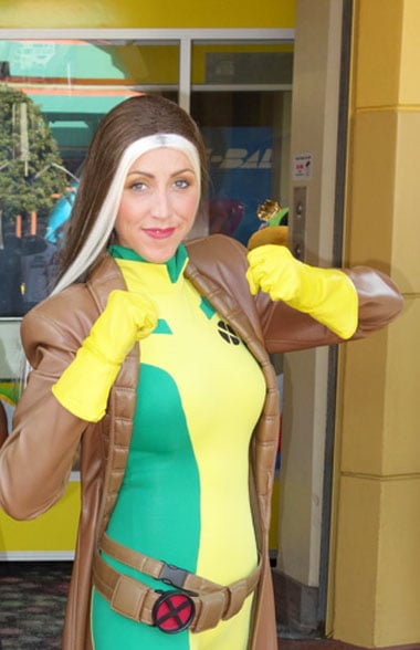 Rogue Xmen Universal Orlando Islands of Adventure Characters