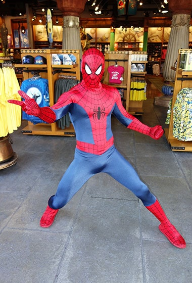 Spiderman meet Universal Islands of Adventure