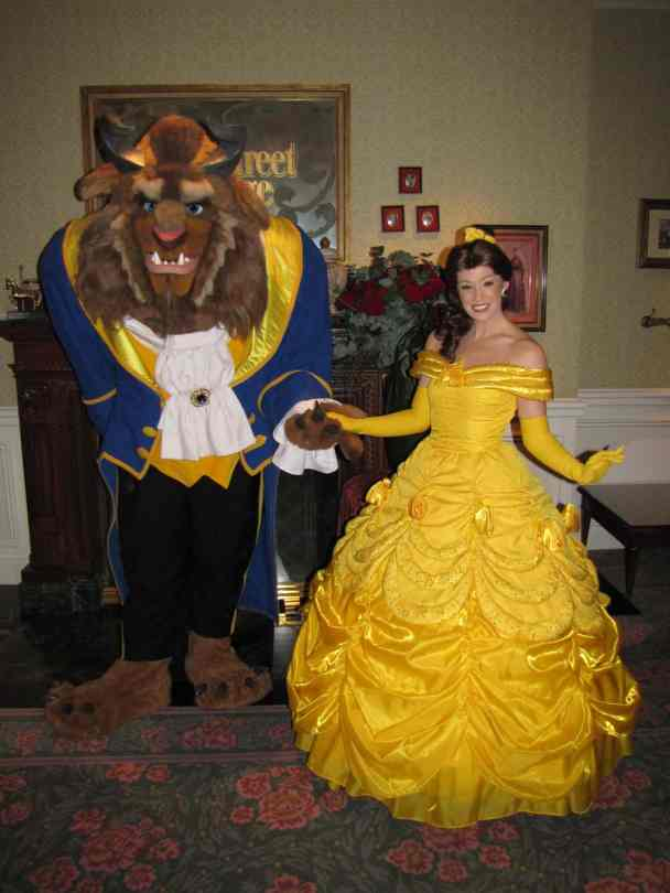 Disneyland Paris Characters Beauty And The Beast Belle