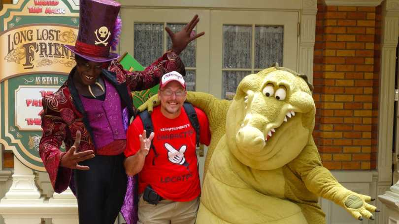 Dr Faciler and Louis Long-lost Friends Magic Kingdom Disney World