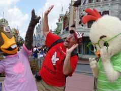 Abby Mallard and Chicken LittleLong-lost Friends Magic Kingdom Disney World