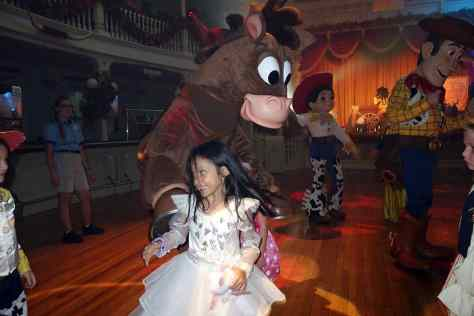 Woody's Dance Party with Jessie and Bullseye.  Hard ticket parties are your only opportunity to see Bullseye at WDW