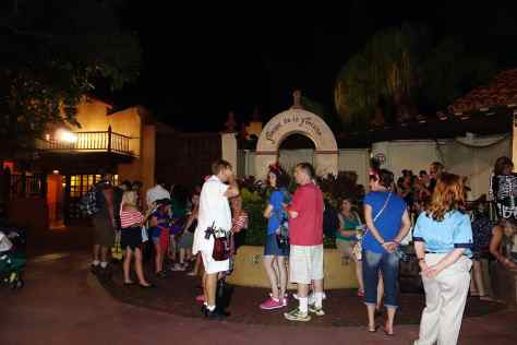 LIne for Jack Sparrow is still long at 11:02 PM