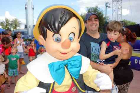 Pinocchio Hollywood Studios Character Dance Jam 2013